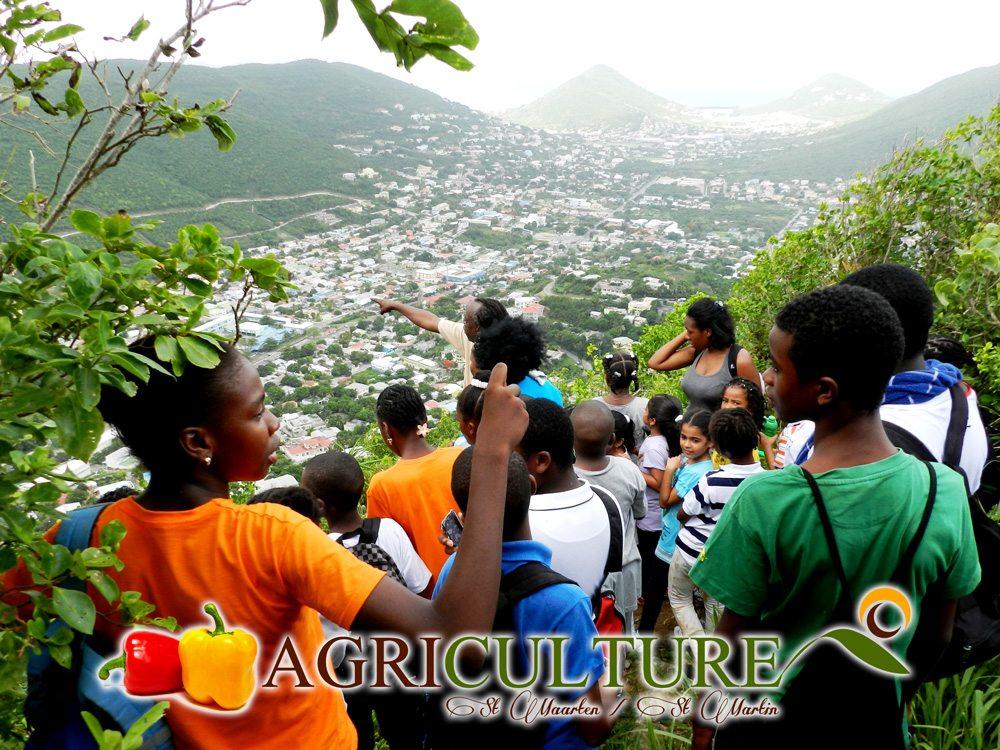 Hiking with St Maarten Hillside Adventures