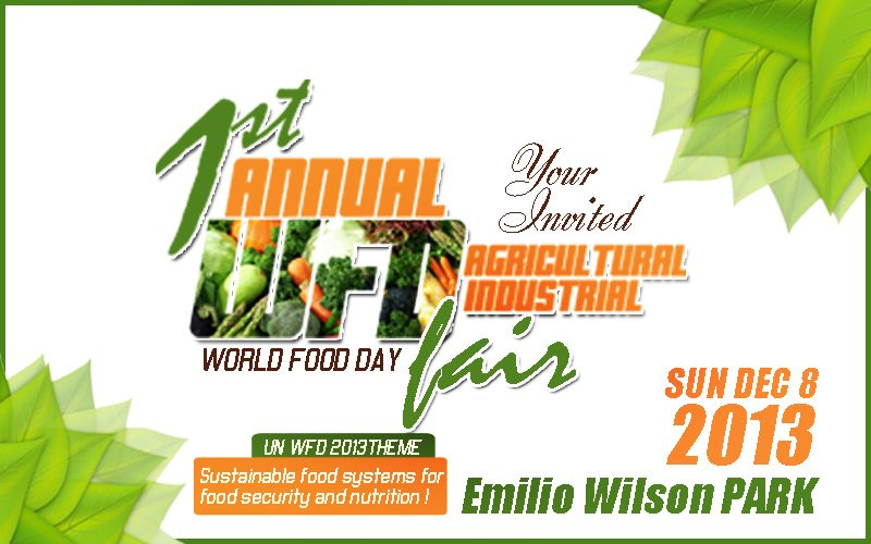 NEW DATE: First Annual Agricultural Industrial Fair Dec 15 2013