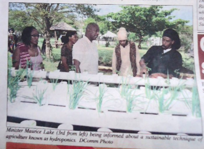 Minister Lake Praises First Annual Agricultural Industrial Fair