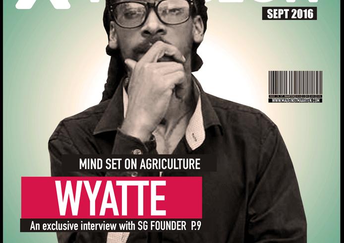 Cultural Xpression September 2016  – Wyatte Mind Set On Agriculture