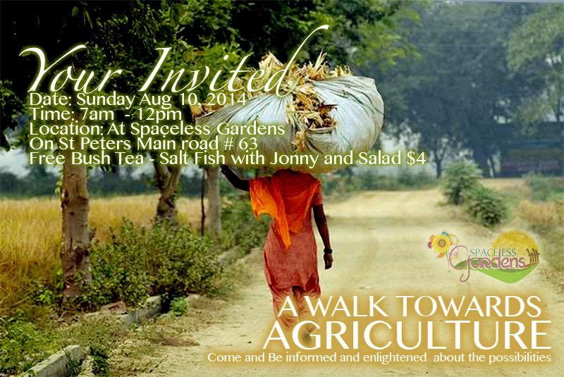 Your Invited to a walk for Agriculture – St Peters Community Garden