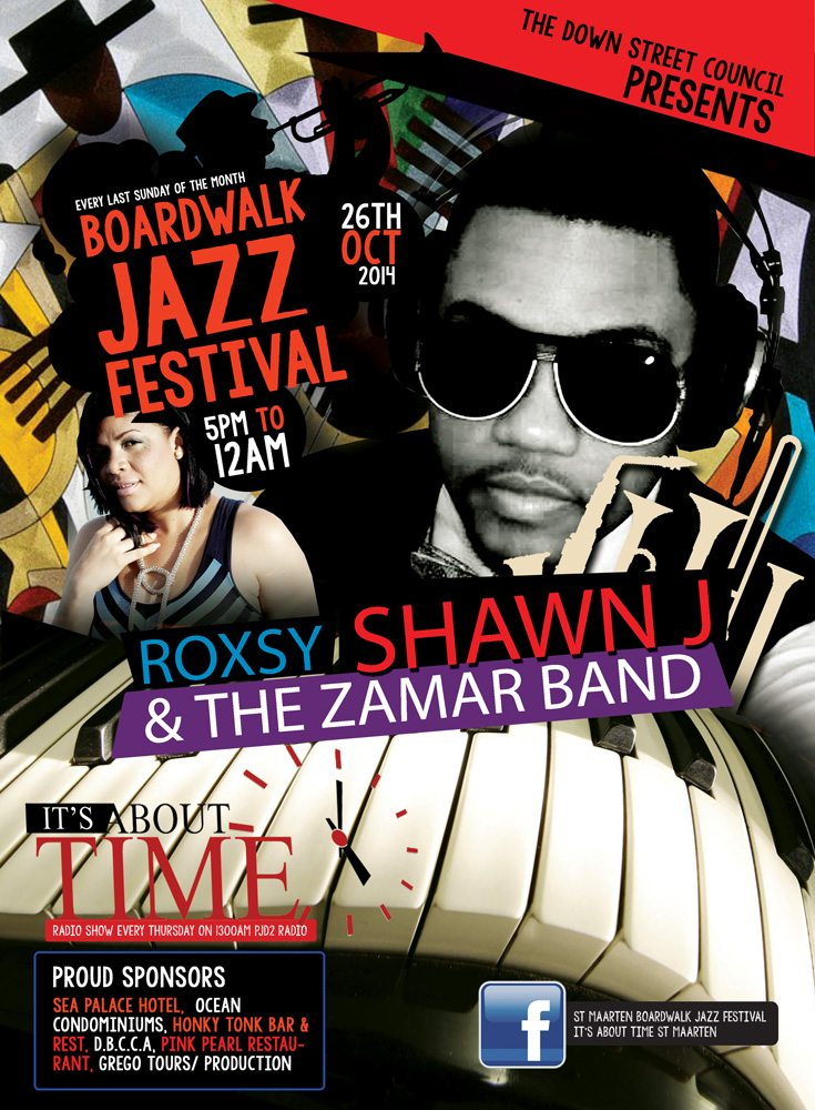 Boardwalk Jazz Festival Sunday Oct 26,2014