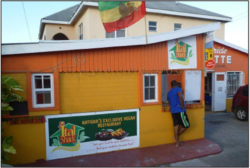 Ras Bush Man opens Ital shack in Antigua