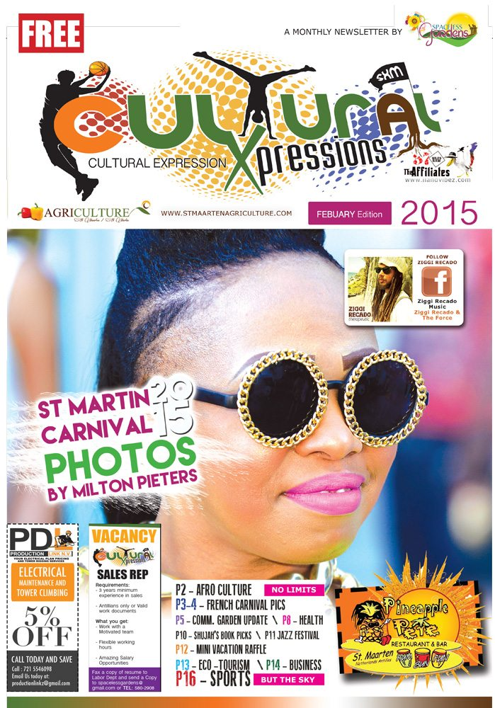 Cultural Xpression Newsletter February 2015