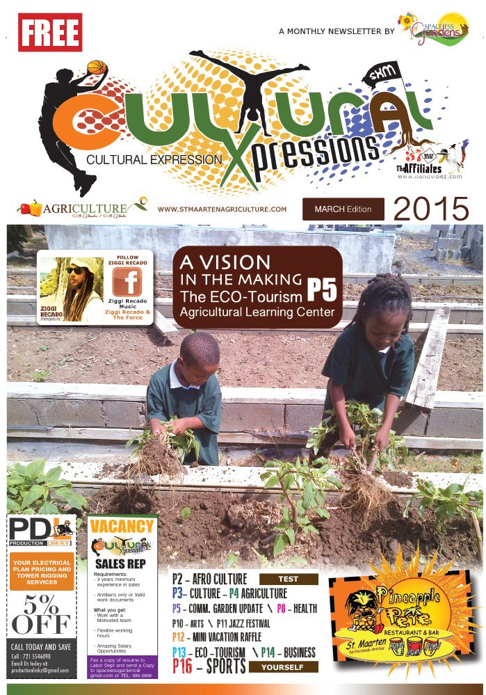 Cultural Xpression Newsletter March 2015