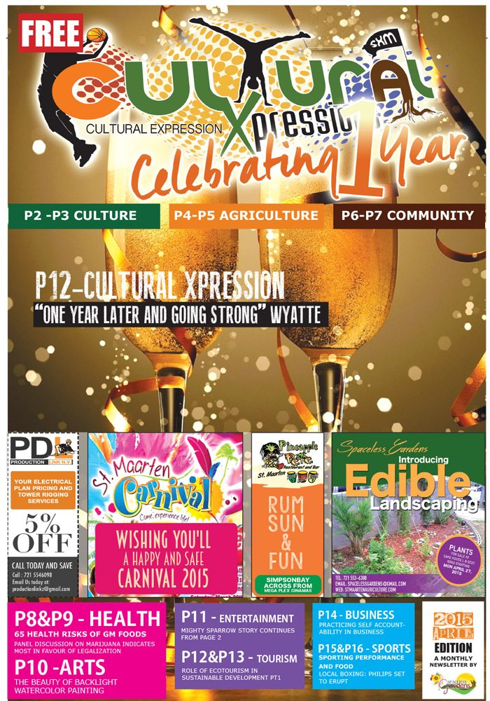 Cultural Xpression April 2015 Edition