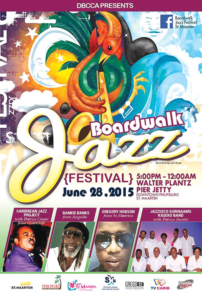 Boardwalk Jazz Festival Sunday June 28-2015