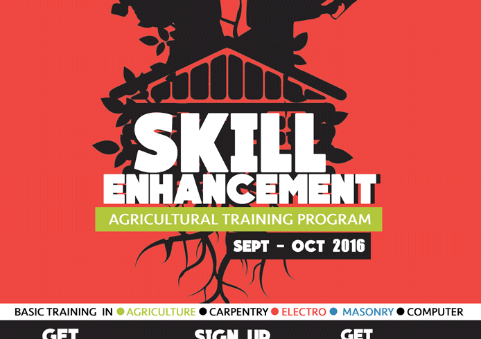 Agricultural Skill Enhancement training program starts this September