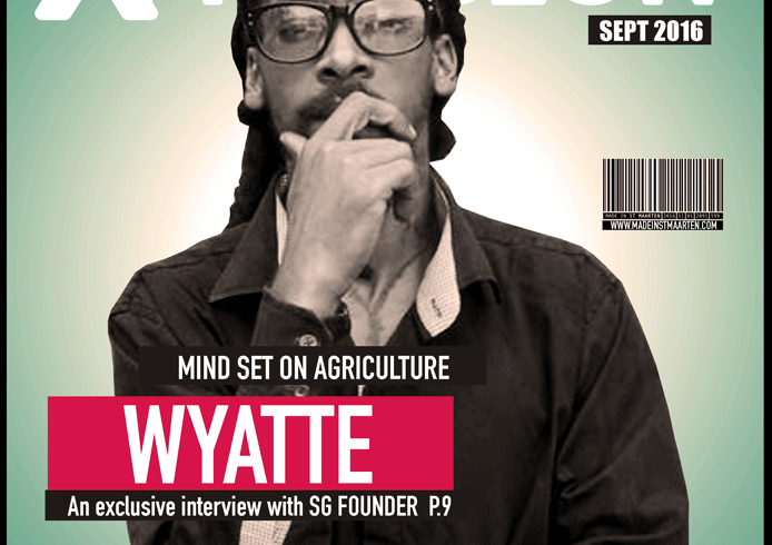 Cultural Xpression September 2016  – Wyatte Mind Set On Agriculture