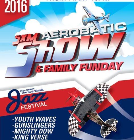2nd Aerobatics Show and Boardwalk Jazz Festival Sunday Nov 13, 2016