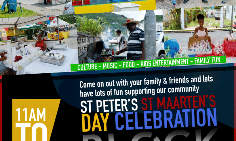Happy St Maarten's Day – 2nd Annual St Peter's Block Party