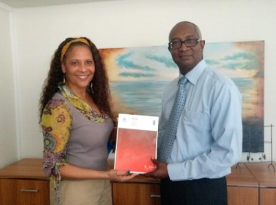 Hard Copies of St. Maarten MDG Report to be presented to stakeholders